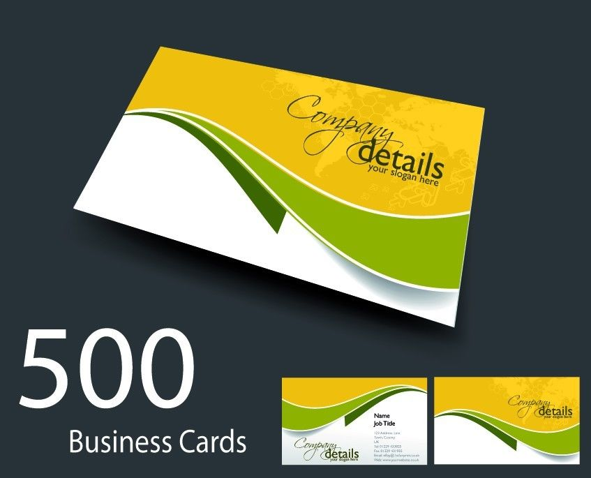 500 full colour double sided business cards printed on 350gsm board 500 full colour double sided business cards printed on 350gsm board 24hr service reheart Images